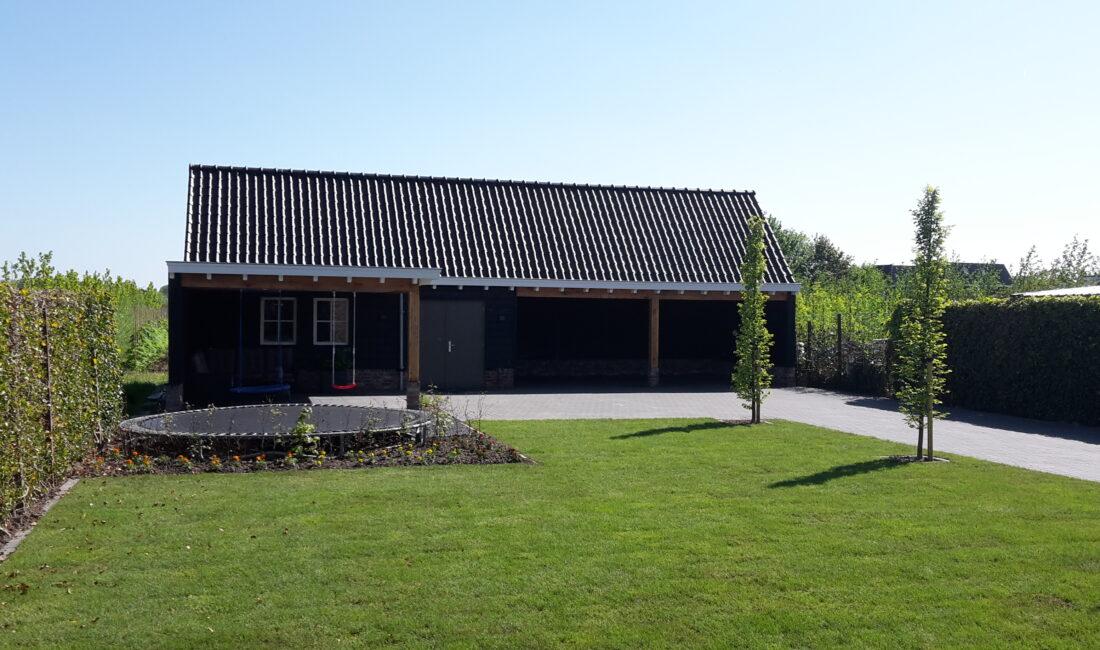 Nieuwe schuur bouwen met carport - Meester Bouwer Opheusden