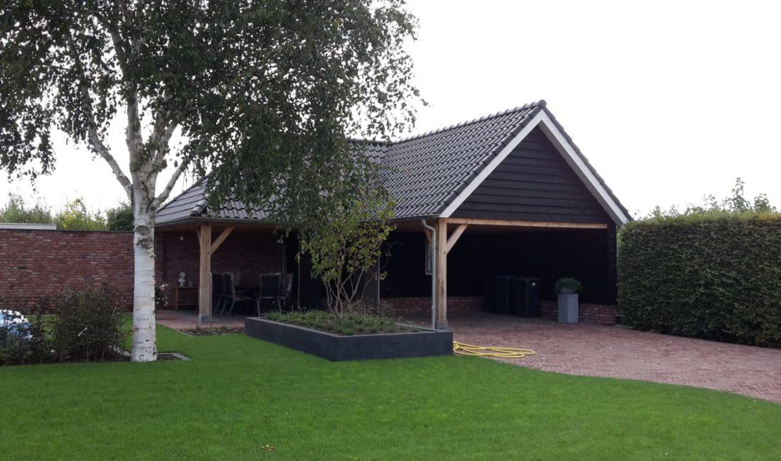 Berging, veranda en carpoort - Meester Bouwer Opheusden