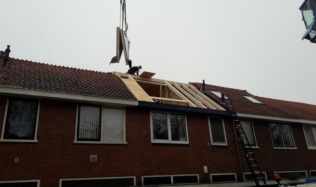 Dakopbouw & Dakkapel op bestaande woning Utrecht